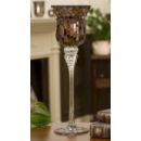 Mosaic Candle Holder Lrg