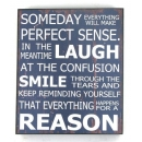 Someday Inspirational Wall Plaque