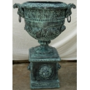 Lion Urn Bronze with stand